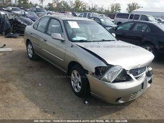 Nissan Sentra GXE 2003