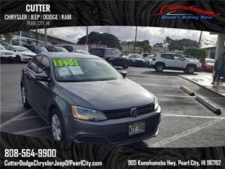 Cutter Dodge Pearl City >> Used 2013 Volkswagen Jetta Se In Pearl City Hawaii