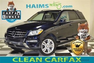 Used 2012 Mercedes-Benz ML 350 in Hollywood, Florida