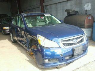 Subaru Legacy 2.5i Limited 2011