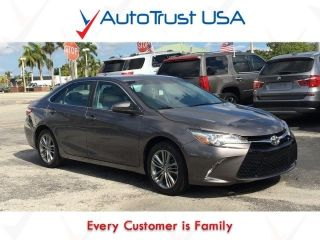 Used 2016 Toyota Camry SE in Miami, Florida