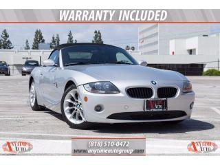 Used 2005 BMW Z4 2.5i in Sherman Oaks, California