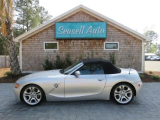 Used 2004 BMW Z4 3.0i in Wilmington, North Carolina