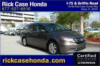 Used 2015 Honda Odyssey EX in Fort Lauderdale, Florida
