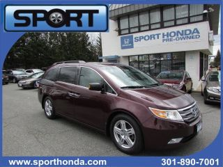 Used 2013 Honda Odyssey Touring in Silver Spring, Maryland