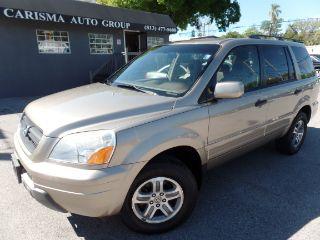 Used 2005 Honda Pilot EXL In Tampa, Florida. Price: $7995