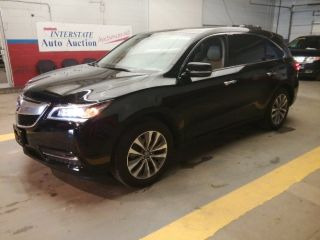 Acura MDX Technology 2014