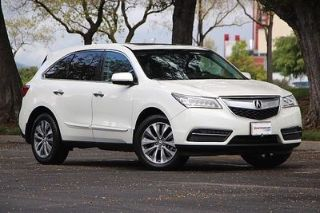 Acura MDX Technology 2014