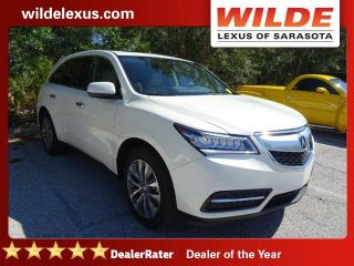 Used 2014 Acura MDX Technology in Sarasota, Florida