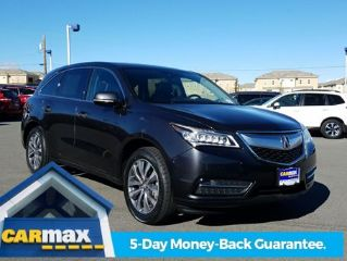 Used 2015 Acura MDX Technology in Roseville, California