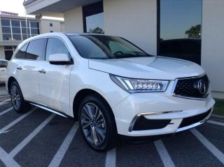 Used 2017 Acura MDX Technology in Beaumont, Texas
