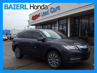 Used 2014 Acura MDX Technology in Wexford, Pennsylvania