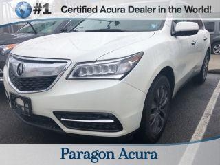 Acura MDX Technology 2015