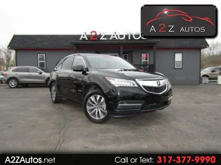 Used 2014 Acura MDX Technology in Indianapolis, Indiana