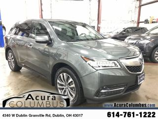 Acura MDX Technology 2016