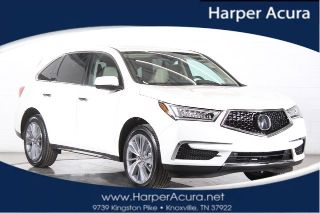 Used 2017 Acura MDX Technology in Knoxville, Tennessee