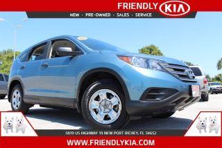 Used 2013 Honda CR-V LX in New Port Richey, Florida