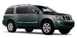 Nissan Armada Platinum Edition 2011
