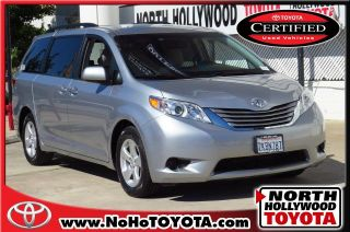 Used 2015 Toyota Sienna LE in North Hollywood, California