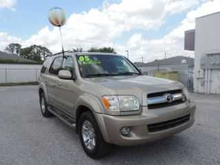 Used 2005 Toyota Sequoia Limited Edition in Port Charlotte, Florida