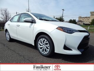 New 2018 Toyota Corolla LE in Trevose, Pennsylvania
