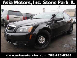 Stone Park Police >> Used 2013 Chevrolet Caprice Police In Stone Park Illinois