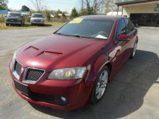 2009 Pontiac G8 Base
