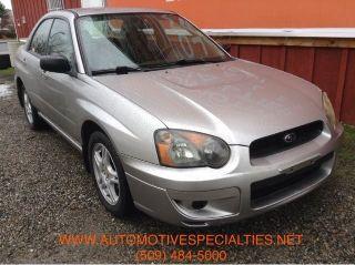 Subaru Impreza 2.5RS 2005