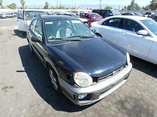 Subaru Impreza Outback Sport 2002
