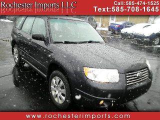 2008 Subaru Forester 2.5X