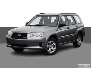 Subaru Forester 2.5X 2007