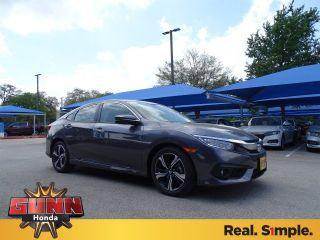 New 2018 Honda Civic Touring in San Antonio, Texas