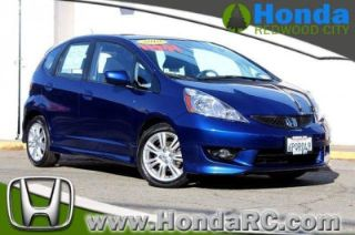 Honda Redwood City >> Used 2010 Honda Fit Sport In Redwood City California