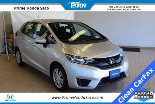 Used 2016 Honda Fit LX in Saco, Maine