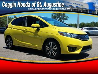 Honda St Augustine >> Used 2017 Honda Fit Exl In Saint Augustine Florida