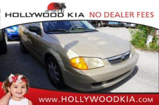 Used 2000 Mazda Protege DX in Hollywood, Florida