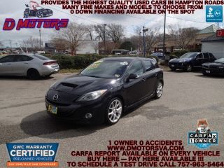 Used 2012 Mazda MAZDASPEED3 Touring in Norfolk, Virginia