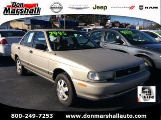 Don Marshall Somerset Ky >> Used 1993 Nissan Sentra Xe In Somerset Kentucky
