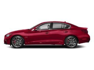 Infiniti Q50 Red Sport 400 2018