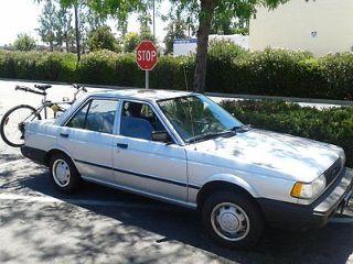 Used 1989 Nissan Sentra In San Jacinto California