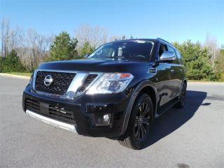 Nissan Armada Platinum Edition 2018