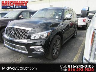 Infiniti Of Kansas City >> Used 2017 Infiniti Qx80 Signature Edition In Kansas City Missouri