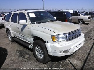 Toyota 4Runner Limited Edition 2001