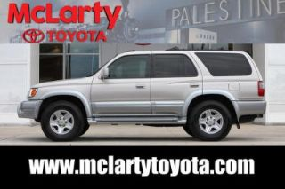 Used 2000 Toyota 4Runner Limited Edition in Palestine, Texas