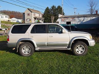 Toyota 4Runner Limited Edition 1999