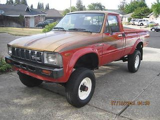 1982 Toyota Truck >> Used 1982 Toyota Pickup Deluxe In Rocklin California