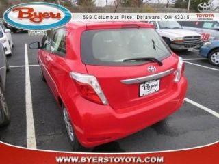 Toyota Yaris LE 2014