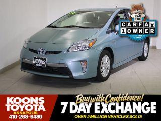 Toyota Prius Plug-in 2013