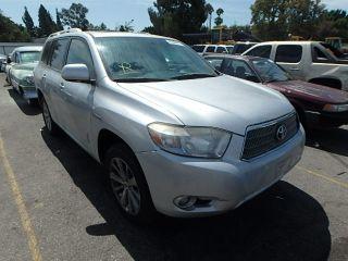 Toyota Highlander Limited 2008