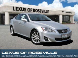 Used 2013 Lexus IS 250 in Roseville, California